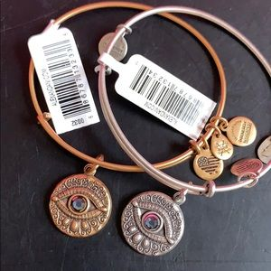 Alex and Ani Evil Eye in Silver OR Gold
